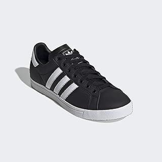 adidas Originals Men's Coast Star Sneaker, Black, White, Black, 5 Medium US