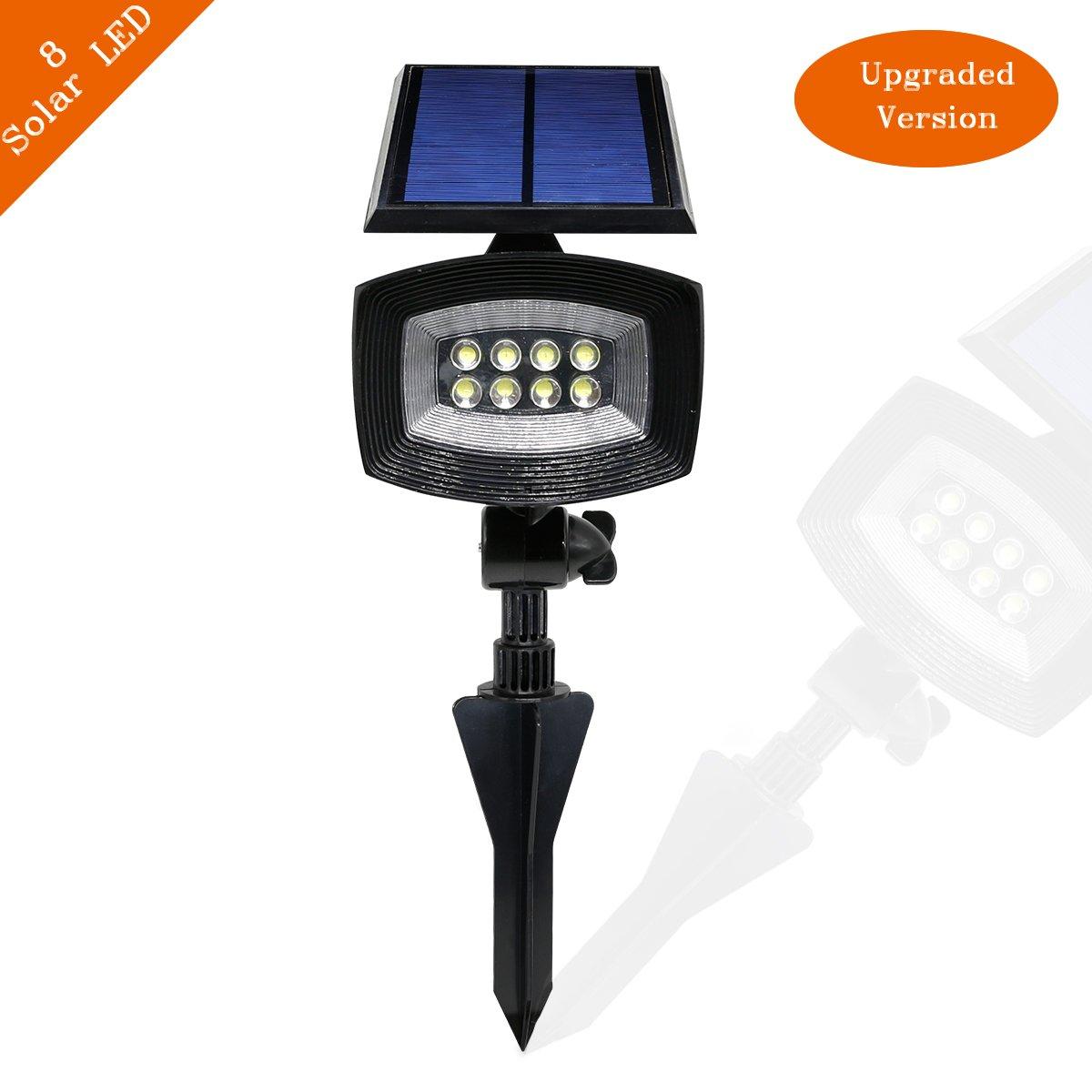 Amazon.com : Solar Lights, APOLLED 400 Lumens Adjustable Waterproof ...