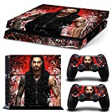 FriendlyTomato PS4 Console and DualShock 4 Controller Skin Set - WRESTILG WRESTLER - PlayStation 4 Vinyl