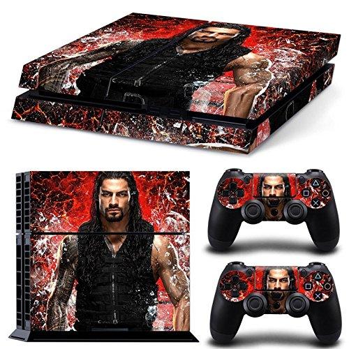 friendlytomato-ps4-console-and-dualshock-4-controller-skin-set-wrestilg-wrestler-playstation-4-vinyl