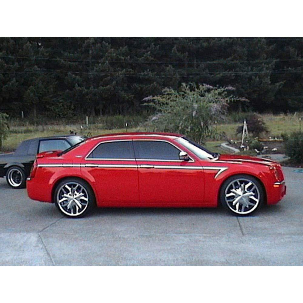 14p Chrome Arrow Accent Trim fits 05-10 Chrysler 300C Hearse//Limousine