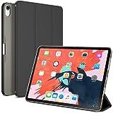 """Maxboost iPad Pro 11 英寸保护套 (2018) 磁性智能 PU 皮革前盖 + 支架/自动唤醒/休眠设计/半透明哑光磨砂硬质混合外壳兼容 Apple iPad Pro 11"""""""