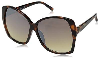 Amazon.com: Jessica J5629 Ts Simpson - Gafas de sol redondas ...