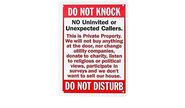 Wali aluminio señal para casa negocio seguridad, leyenda