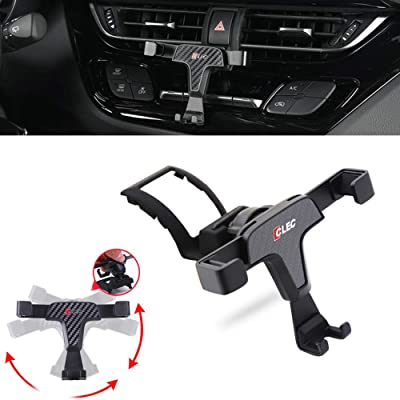 GTINTHEBOX Smartphone Cell Phone Mount Holder with Adjustable Air Vent Clip Cover for 2016 2020 2020 Toyota CH-R CHR (3.5-6.0 Inches Phone)