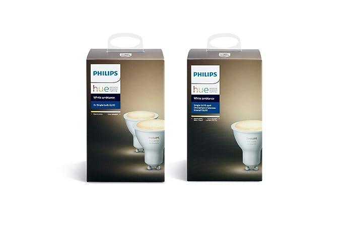 Philips hue white ambiance faretti spot led controllabile via app