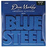 Dean Markley Blue Steel Cryogenic Activated Guitar Strings, 11-52, 2562, Medium