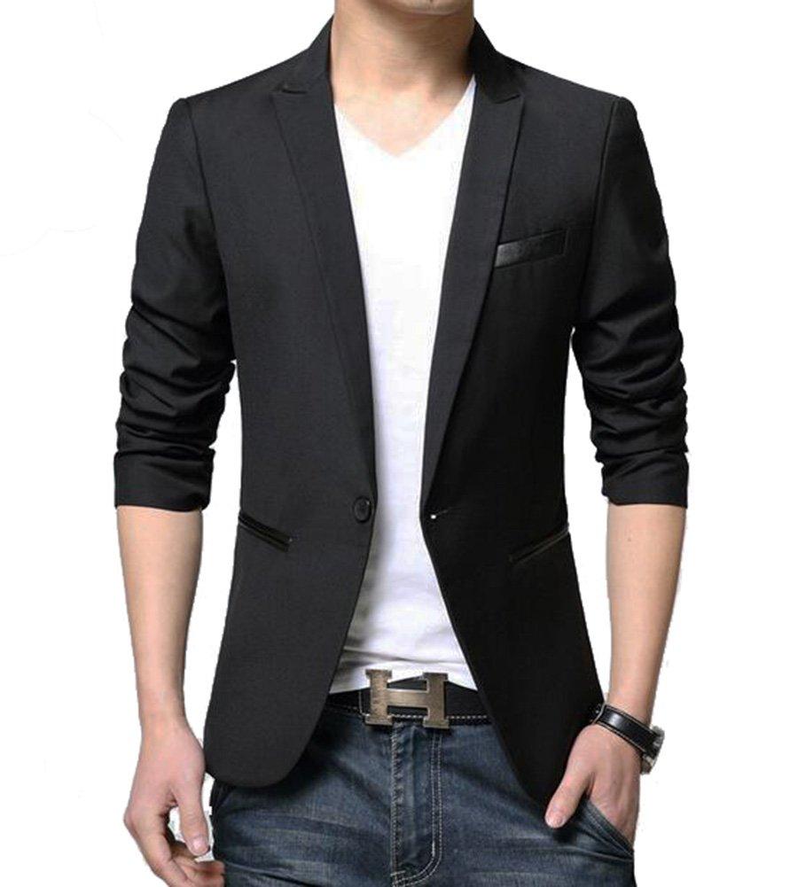 Benibos Men's Slim Fit Casual Premium Blazer Jacket