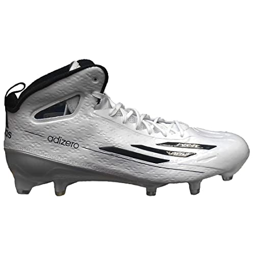 big sale 9f02c 19da8 adidas Mens Special SM Adizero 5-Star 4.0 Mid Football Cleats (13, White