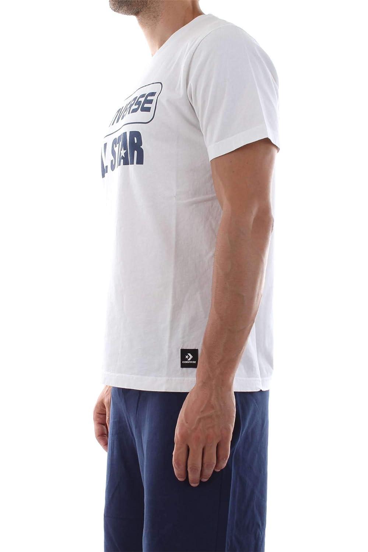 Converse 10017500-A02 Jersey Hombre Blanco L: Amazon.es: Ropa y ...