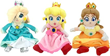 Amazon Com Super Mario Bros Princess Rosalina Daisy Peach Plush
