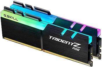 G.Skill Trident Z RGB 16GB DDR4 16GB DDR4 3200MHz módulo de - Memoria (16 GB, 2 x 8 GB, DDR4, 3200 MHz, 288-pin DIMM, Negro)