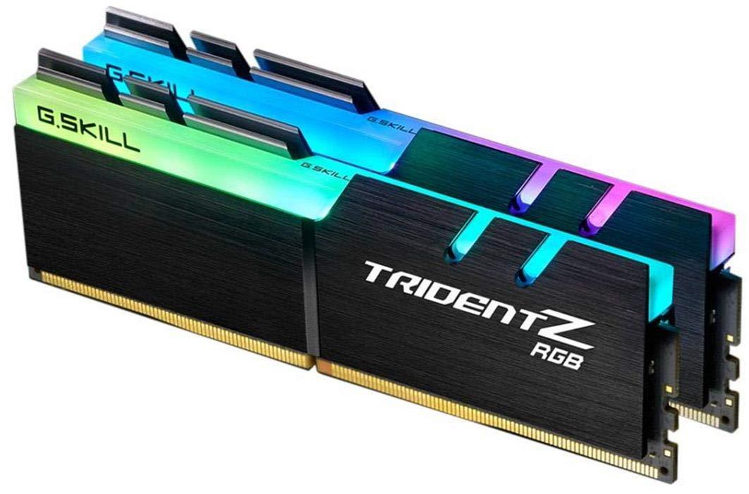 G.SKILL TridentZ RGB Series 16GB (2 x 8GB) (PC4 25600) F4-3200C16D-16GTZR by G.Skill