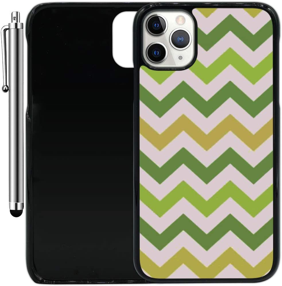 "Custom Case Compatible with iPhone 11 Pro (5.8"") (Colorful Printed Patterned) Plastic Black Cover Ultra Slim 