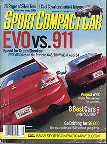 Sport Compact Car (September, 2003): Editors Of SPORT COMPACT CAR Magazine:  Amazon.com: Books