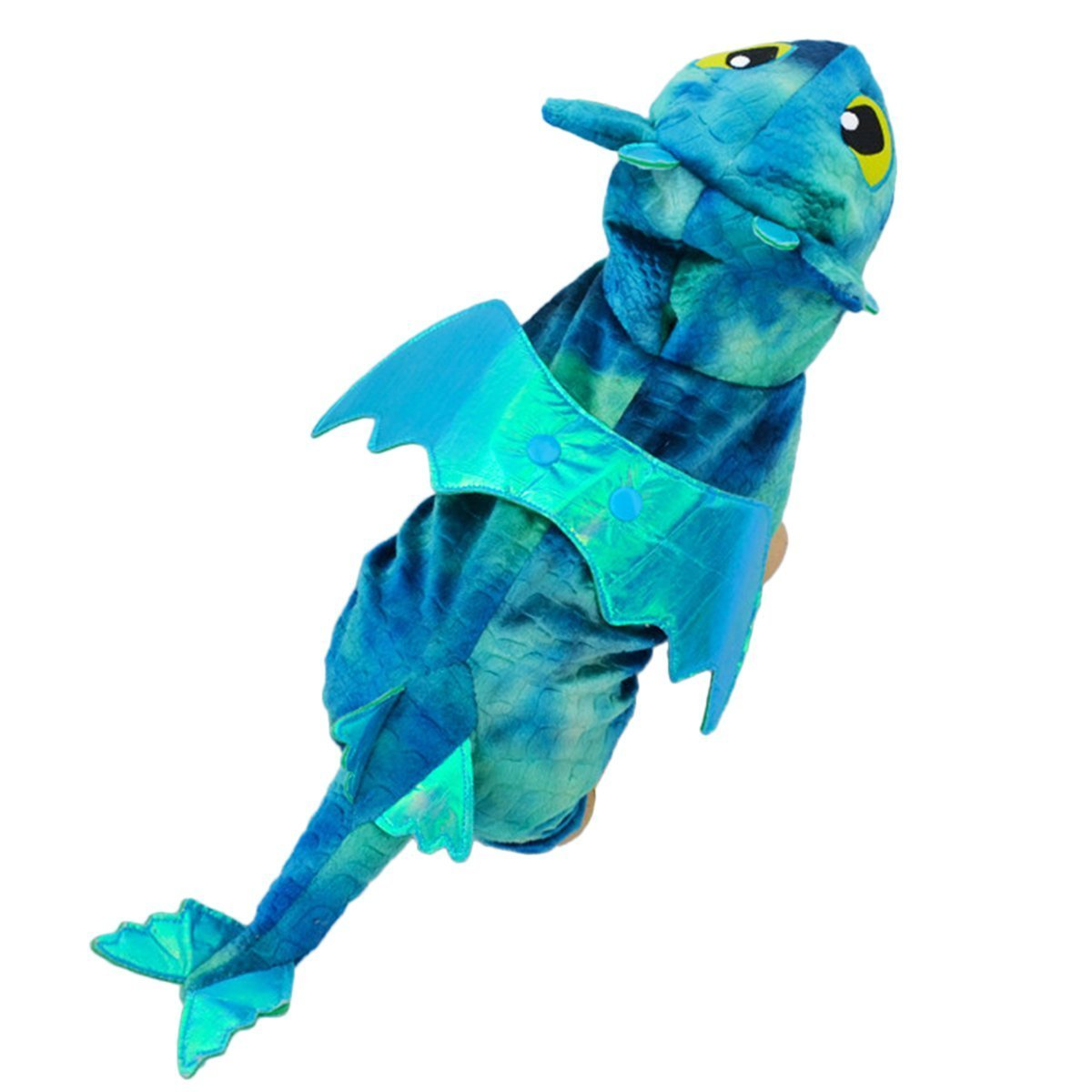 THEE Funny Pet Dog Cat Apparel Fly Dragon Halloween Costume Cosplay Clothes