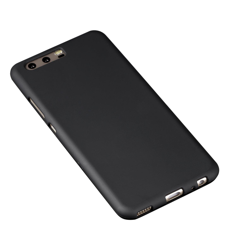 #B&L Schutzhülle für Huawei P10 | Slim 1,0 mm | Schwarz Matt#