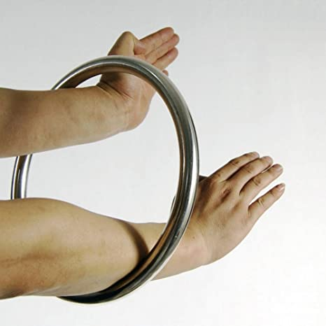 Chinese Wing Chun Kung Fu Rattan Ring Tsun Siu Lum Bamboo Trainning Sticky Hand