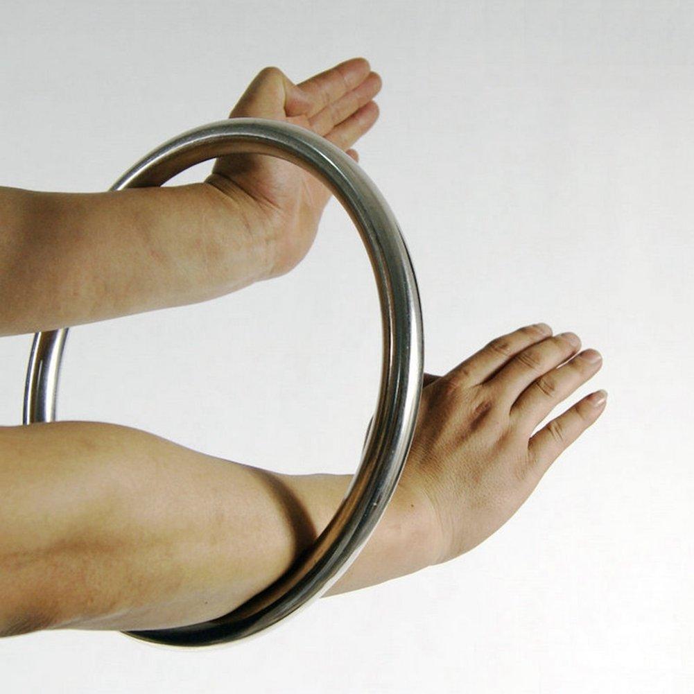 Anneau inoxydable - Entraînement musculaire de la main - Wing Chun - Kung Fu - Tsun Siu Lum Rattan Ring Hotour