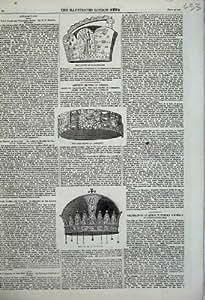 Impresión de Lombardía Carlomagno del Hierro de Hungría de 1859 Coronas [Cocina y Hogar]