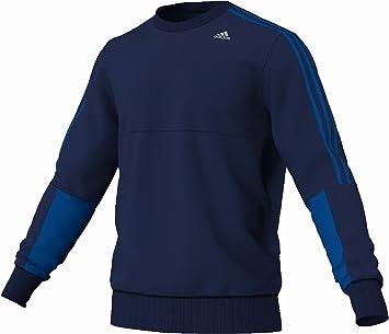 À Couleur Sweat Shirt Clima Adidas Bleu Sport Rond De Col 365 wzZqY