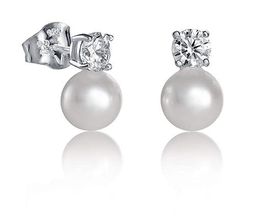 el más nuevo b9bb1 434d1 Pendientes Viceroy Jewels 21017E000-60 Plata de Ley