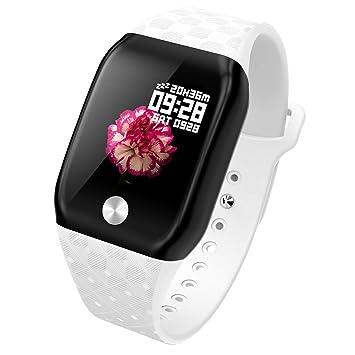 BOBOLover Pulsera de Actividad Inteligente, Reloj Inteligente Reloj Digital Reloj Deportivo Reloj Brazalete Deportivo Automatico Pulsómetro Monitor de ...
