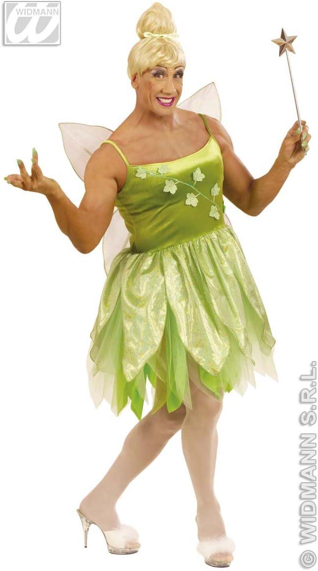 WIDMANN wdm5706l ? Disfraz para adultos Hada de Bosque, Verde, XL ...