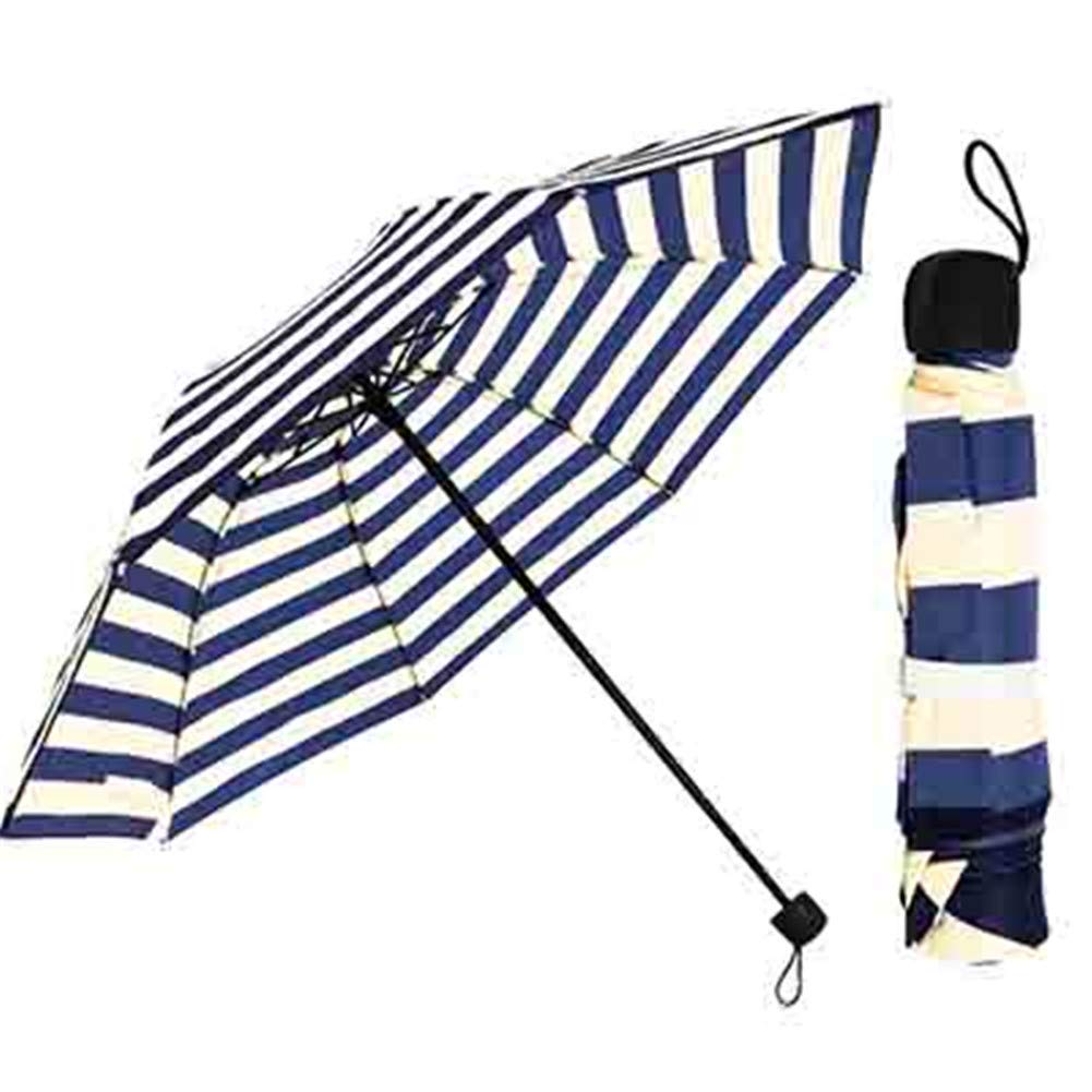 Amazon.com: bubblefish 2018 New Striped Umbrella 3 Folding Paraguas 8 Bone Windproof Women Childrens Umbrella Dropshiping: Garden & Outdoor