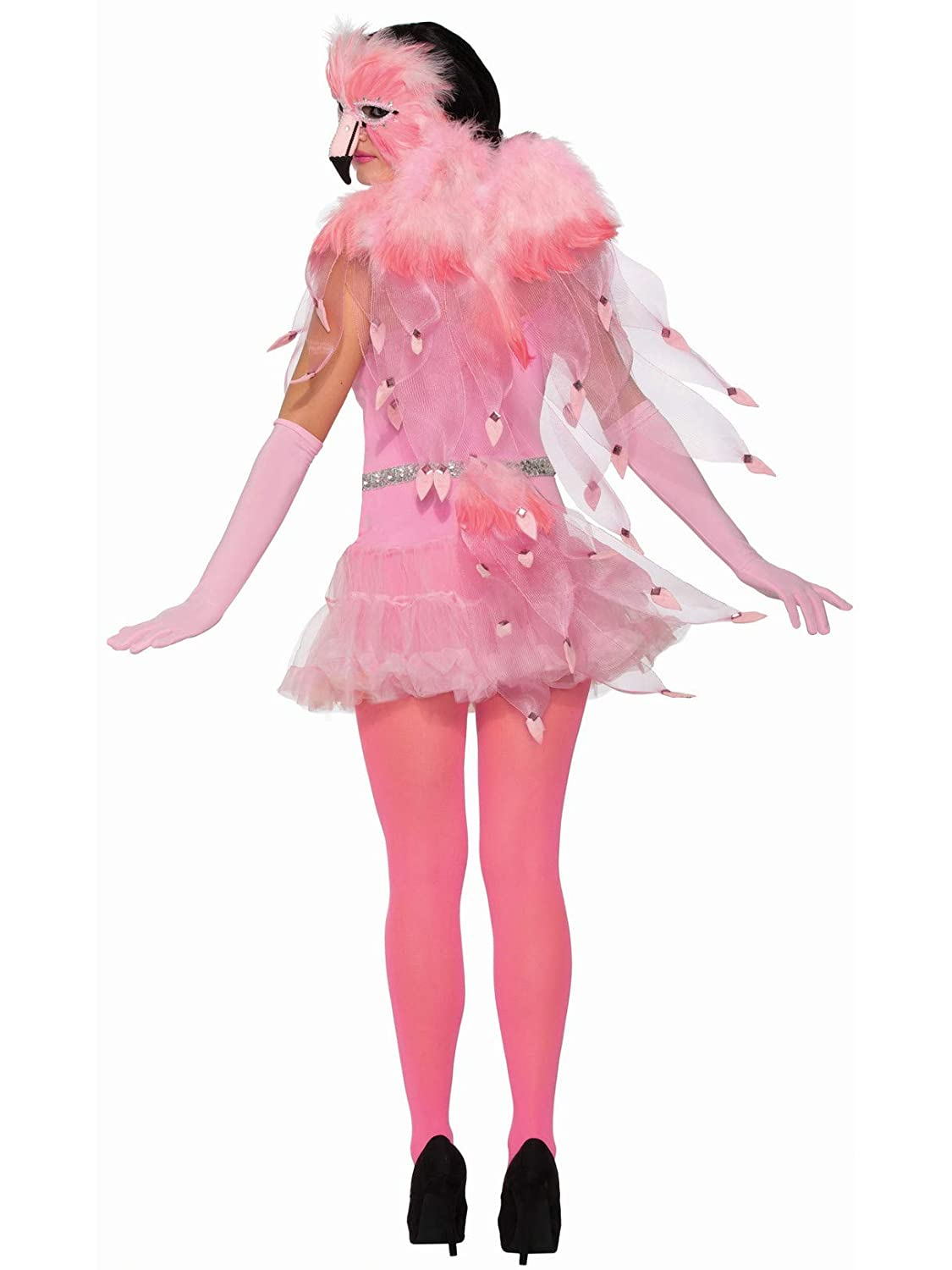 Amazon.com: Disfraz de Flamingo mujer alas: Toys & Games