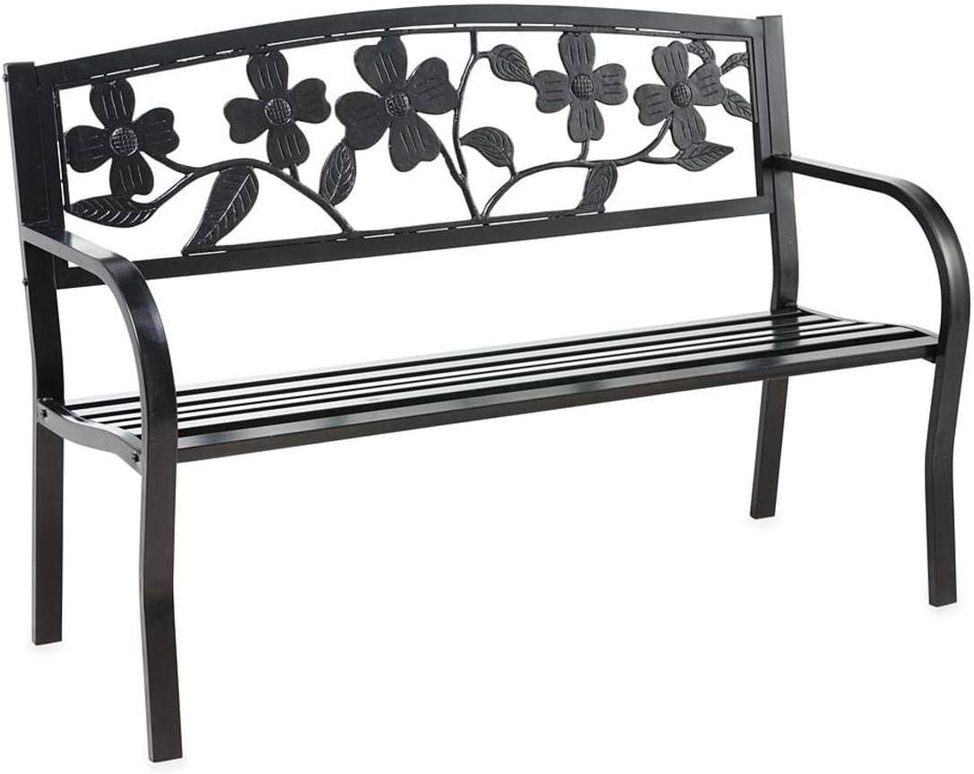 Plow & Heart Metal Garden Seat