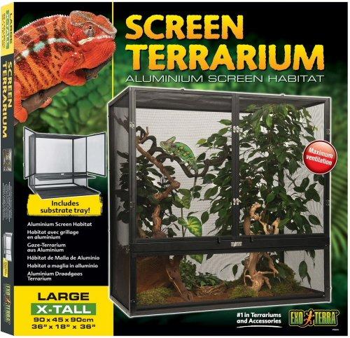 61MoDCPIVIL - Exo Terra Screen Terrarium, Large