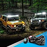 Nilight 10014W LED Light Bar Wiring Harness Kit