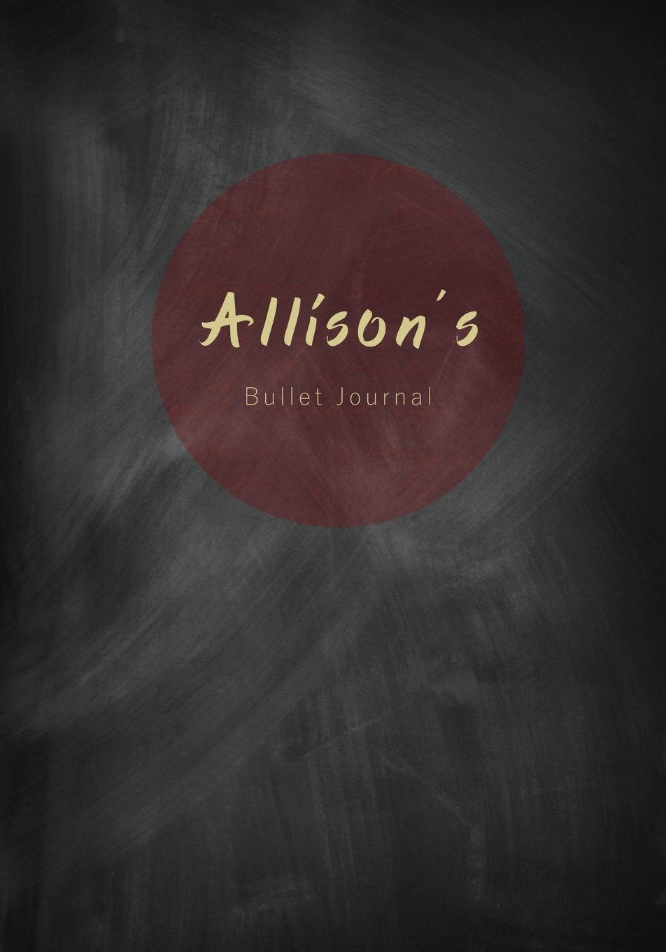 Download Allison's Bullet Journal: A Personalized Name Dot Grid Notebook/Planner/Organizer (7x10 Inches) (Cute Notebooks, Journals and Other Unique Birthday ... Best Friend and Other Women and Teen Girls)) ebook