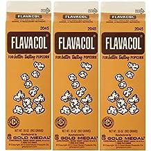 Gold Medal Prod. 2045 Flavacol Seasoning JKHnVq Popcorn Salt 35oz., 3 Pack