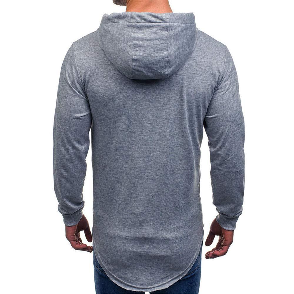 Printemps Automne Hiver Sweat-Shirt Manteau Veste Am/éLiorer Pas Cher Hoodies L/âChe D/éContract/é Pullover Sweat-Shirt Chemisier Sweat /à Capuche Homme