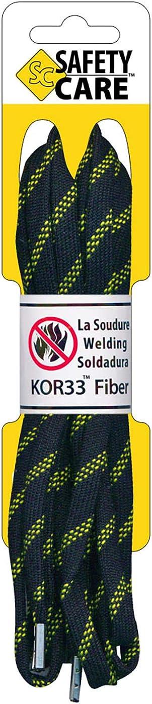 SafetyCare Lacets ignifuges pour bottes et chaussure
