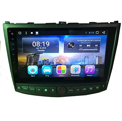 TOPNAVI 16GB Android 6 0 Car Radio for Lexus IS350 IS250 2005 2006 2007  2008 2009 2010 2011 Auto Parts Stereo GPS Navigation 10 1Inch Quad Core 1GB