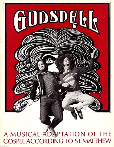 "Stephen Schwartz""GODSPELL"" Original Off-Broadway Cast 1971 Souvenir Program"