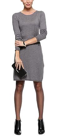 Soliver Black Label Damen Businesskleid Knielang 11310822805