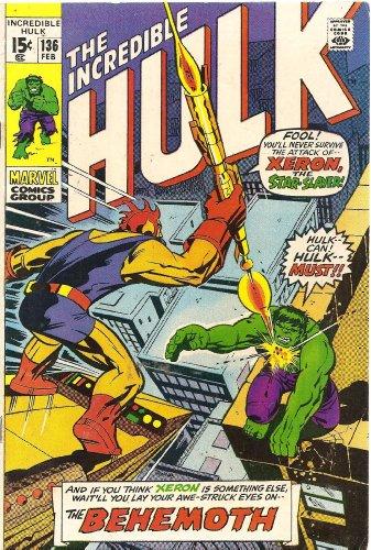 The Incredible Hulk #136 (Klaatu! The Behemoth From Beyond Space!)
