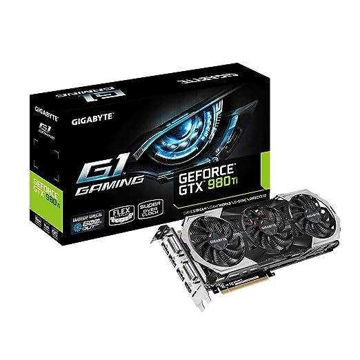 42 opinioni per Gigabyte GTX 980Ti G1 Scheda Video, 6GB, PCIE, Nero