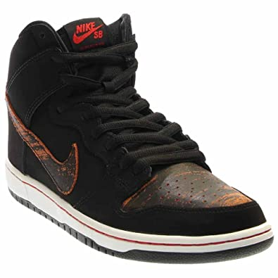 4f0d5164db1 discount nike sb dunk high pro black university red black 8.5 6c133 742cf