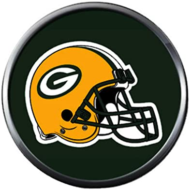 65928c1c1d Image Unavailable. Image not available for. Color  NFL Helmet on Green Bay  Packers ...