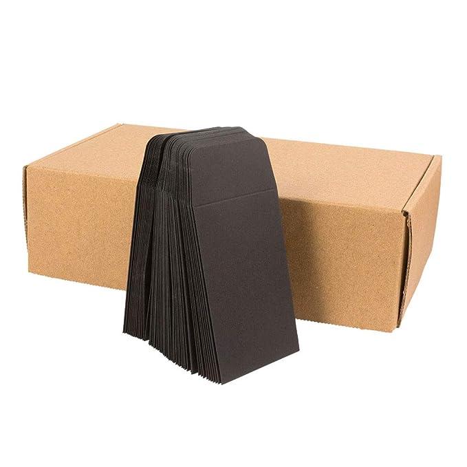 Black Paper Coin Envelopes 250 Packs 2.25X3.25 for Concentrate Shatter