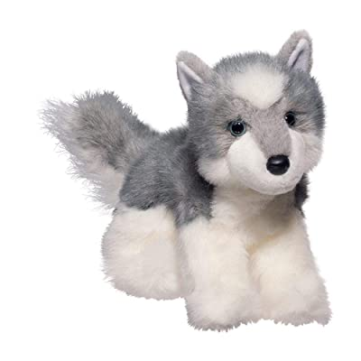 Douglas Joli Husky Plush Stuffed Animal: Toys & Games