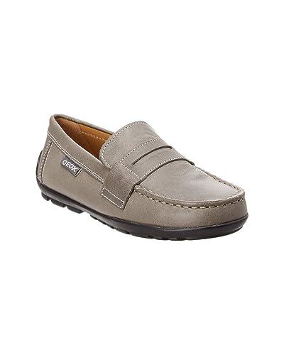 d051476abdc Geox Kids Boy s Jr Fast 21 (Little Kid) Dark Grey Shoe