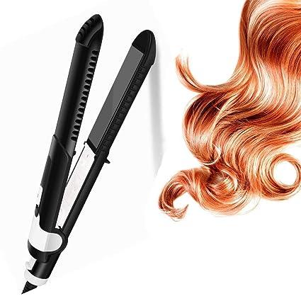 Hairlife 2 en 1 Plancha de Pelo y rizador de Pelo una máquina de Doble propósito