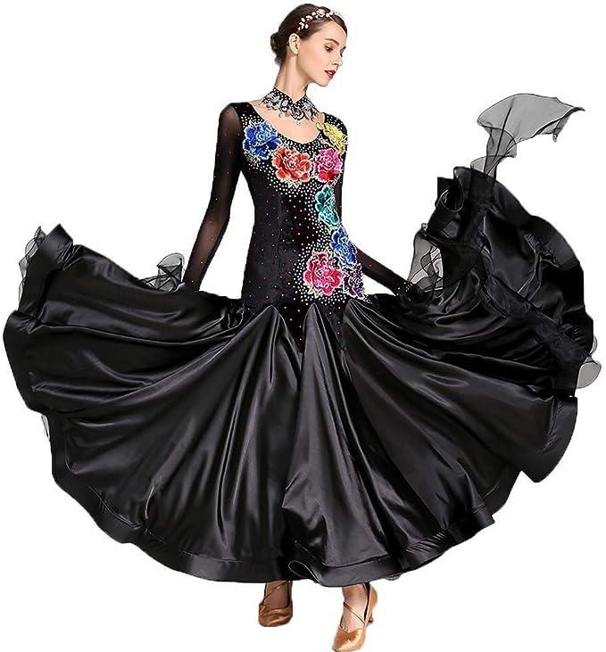 Vestido De Falda De Baile Moderno For Adultos, Disfraces, Vestido ...