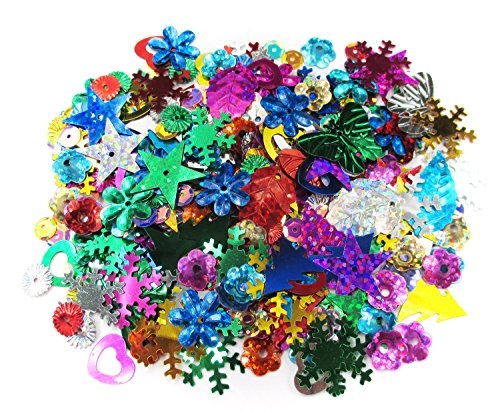 ALL in ONE Spangle Mix: Assorted Color and Shape - Shape Female In